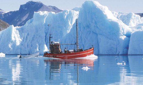 Blue Ice Explorer Skib